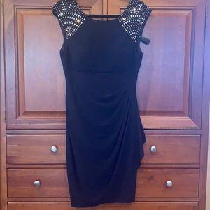 Caché Black Cocktail Dress